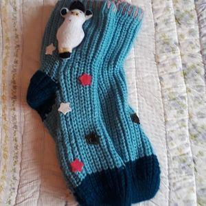 New knitted socks/slippers